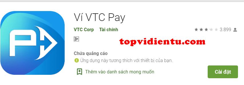tải ví VTC pay
