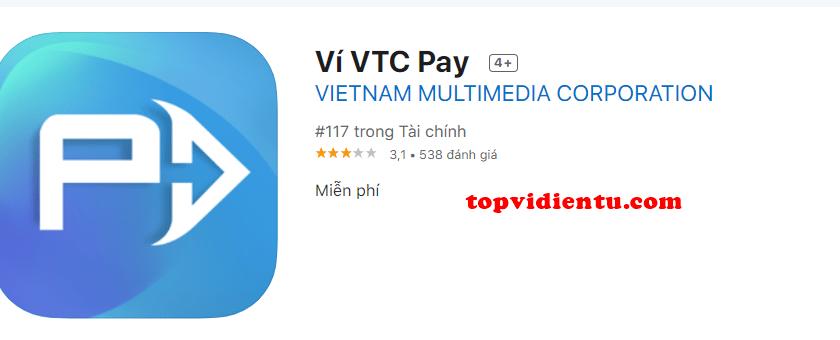 tải ví điện tử VTC pay