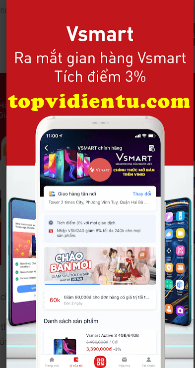đăng ký tài khoản VinID