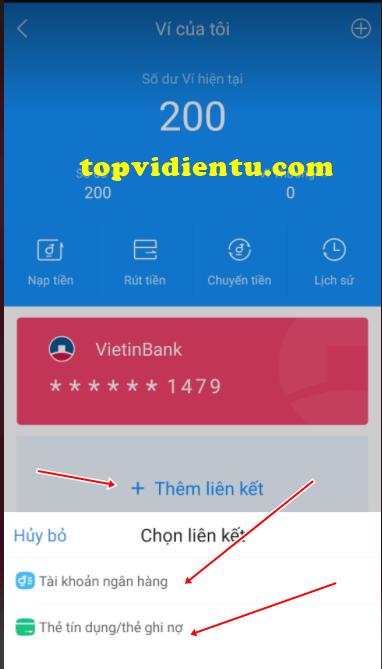 liên kết AirPay với Vietcombank
