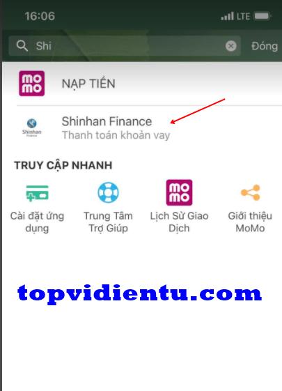 Thanh toán vay tiêu dùng shinhan finance ở đâu