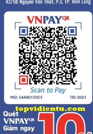 Các địa điểm thanh toán VNPAY-QR