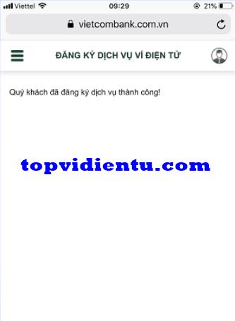liên kết vtc pay với vietcombank